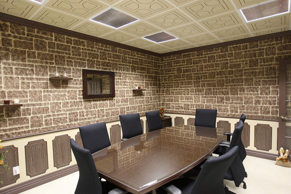 Préférence Faux-plafond en bois / en dalles / décoratif - REGENCY - MUR design DY48