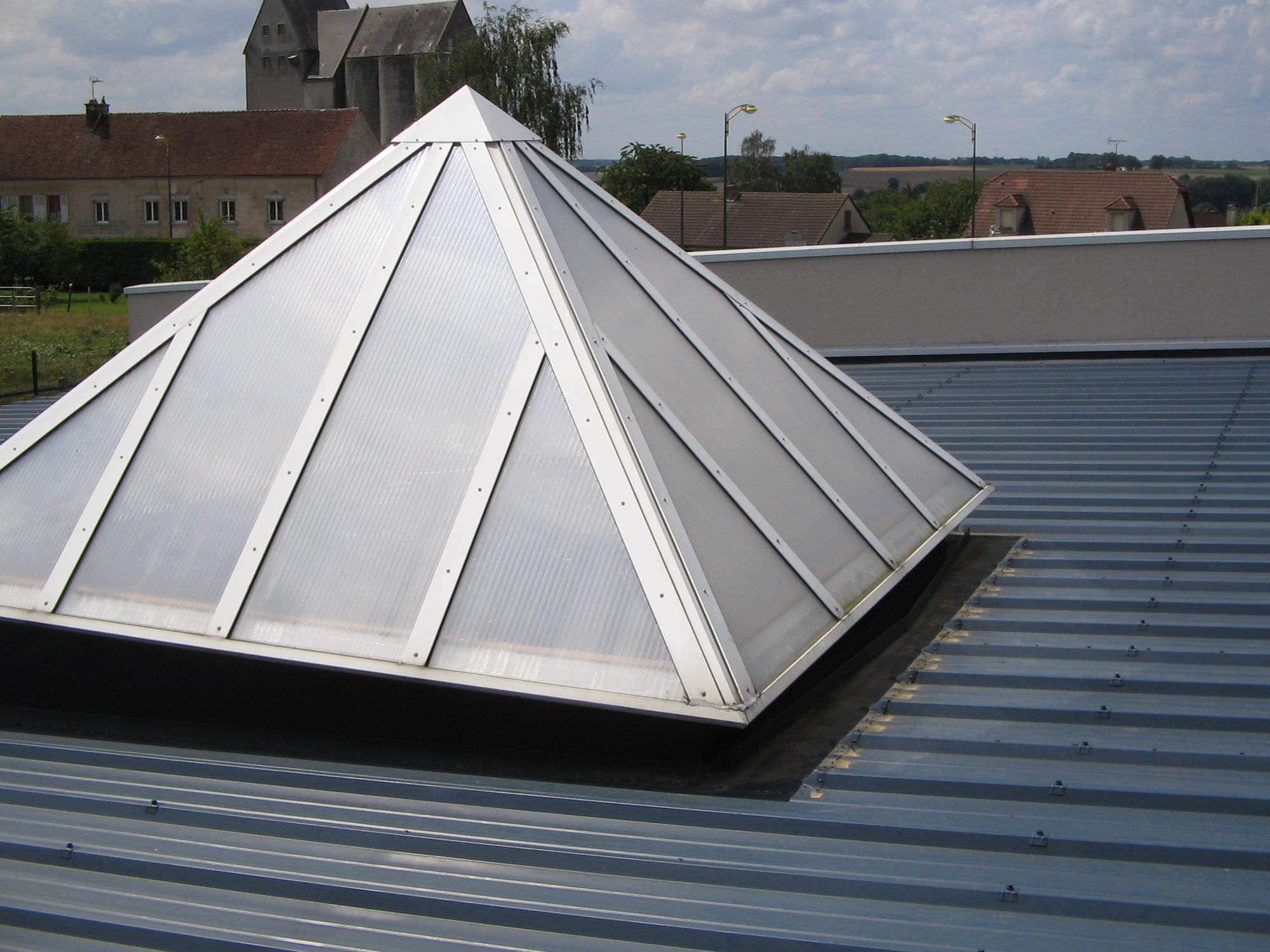 Lanterneaux de toiture