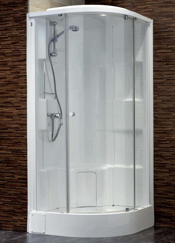 cabine de douche plastique
