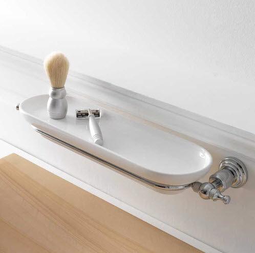 Étagère murale / contemporaine / en céramique / de salle de bain ...