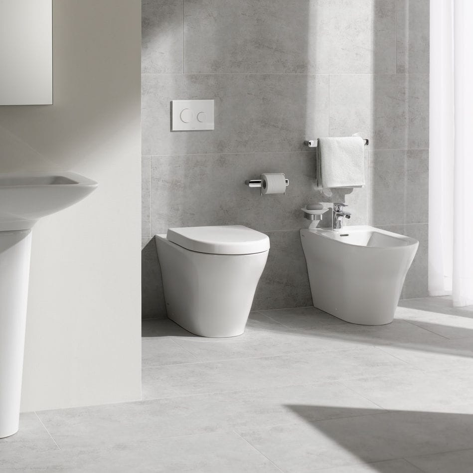 Toilettes à poser / en céramique / sans bride - MH - TOTO Europe GmbH