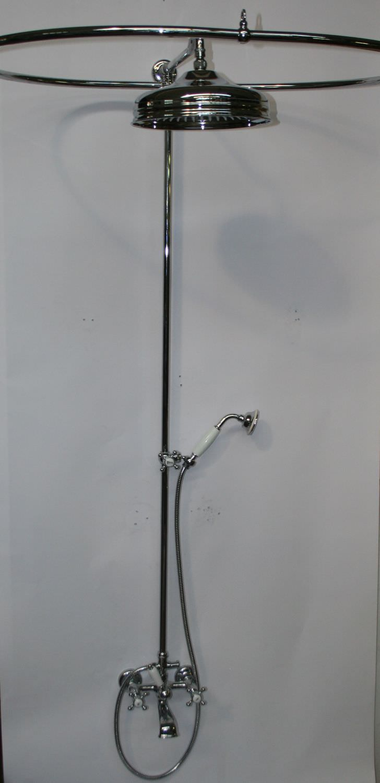 Set de douche mural / classique / avec douche à main / avec ...