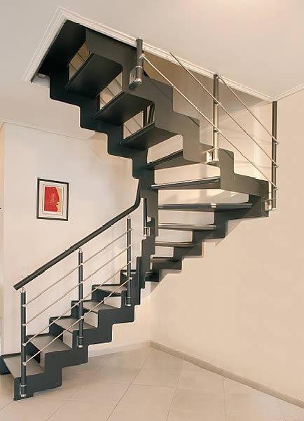 escalier helicoidal ou droit