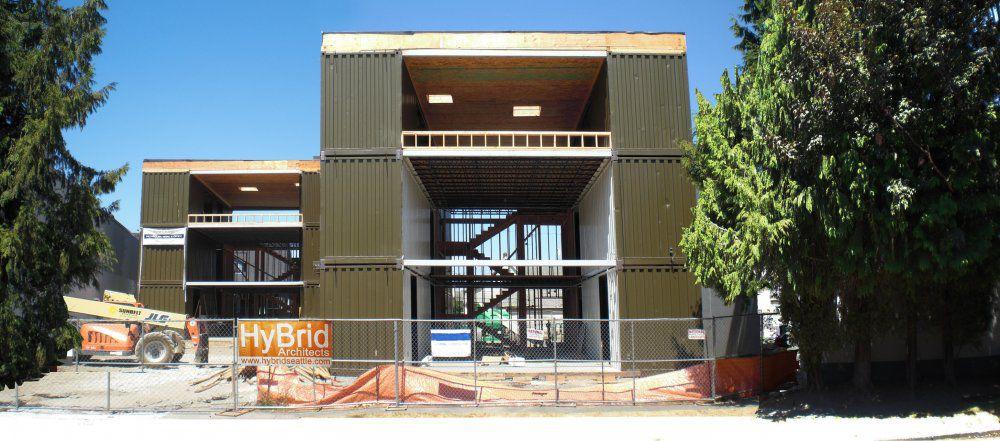 Construction En Conteneurs Commerciale Pour Logement Collectif C3600 Loft