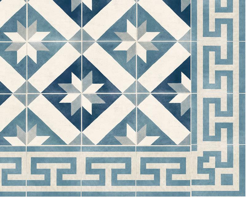 Fabuleux Papiers peints classiques / en vinyle / motif faïence / non tissés  VB03