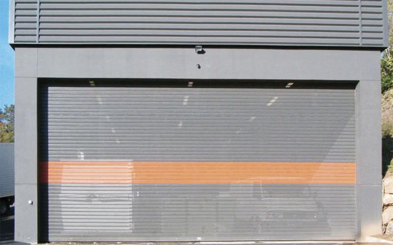 Rideau métallique - MURAX 110 À LAMES MICROPERFORÉES - La Toulousaine