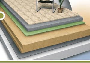 ... Isolant Thermique / En Fibre De Bois / Pour Toiture Terrasse / Pour Mur