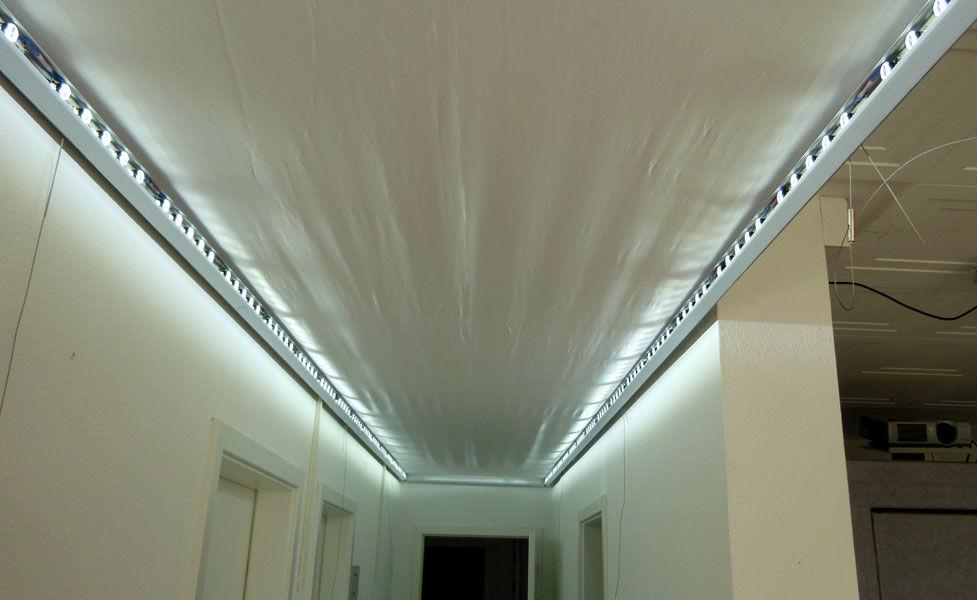 Connu Panneau led pour plafond ciel / pour plafonds lumineux - DELEAGE  OV55