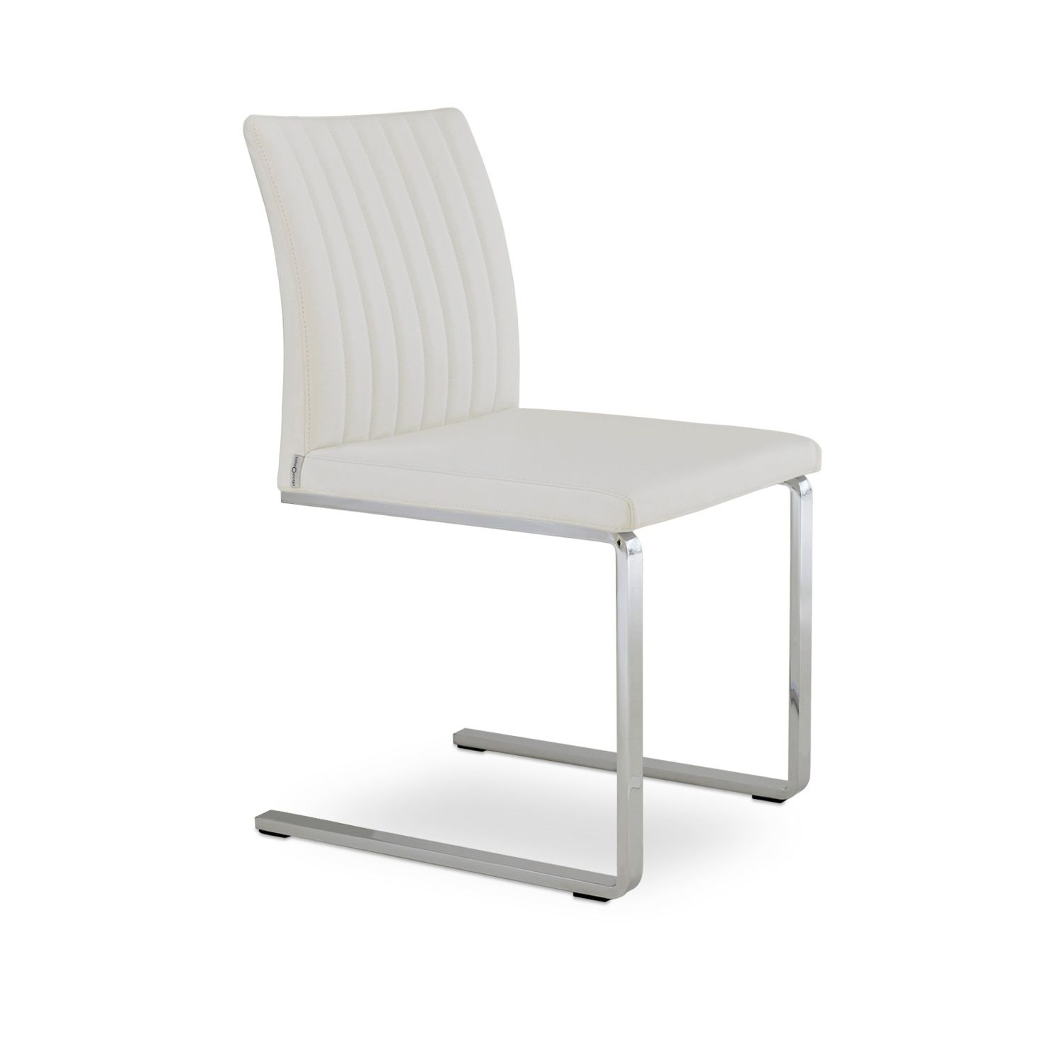 Luge Chaise Cantilever Contemporaine Tapissée Zeyno By WEDH29I