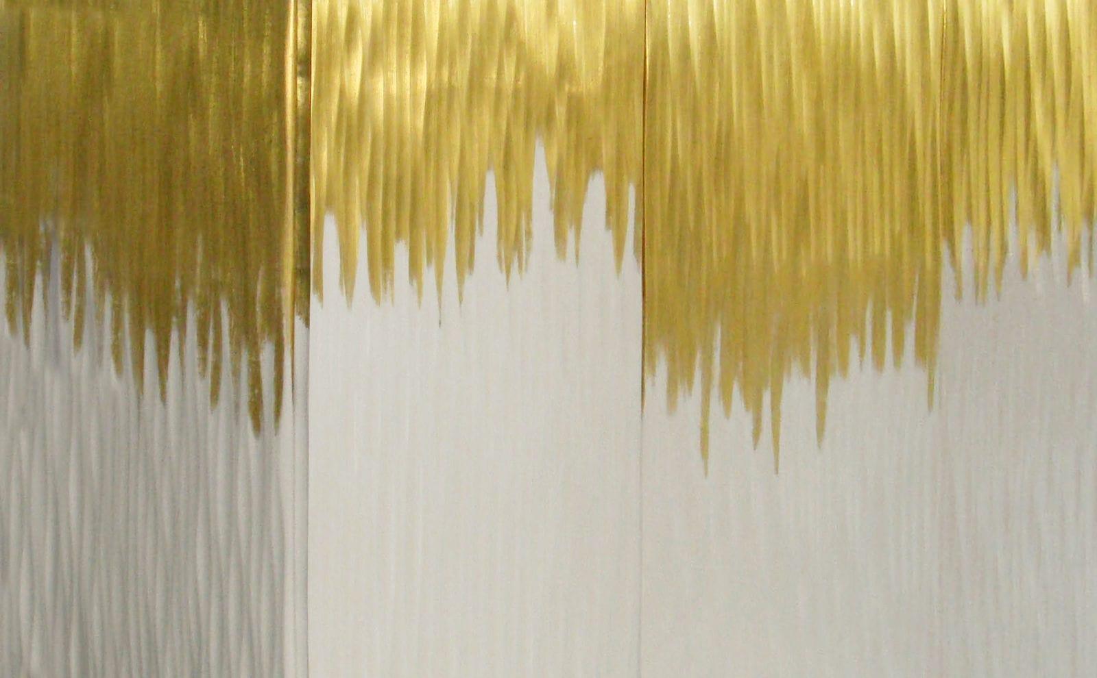 Buffet contemporain   en bois laqué   blanc   doré - MOON GOLD ... d4f89006c806