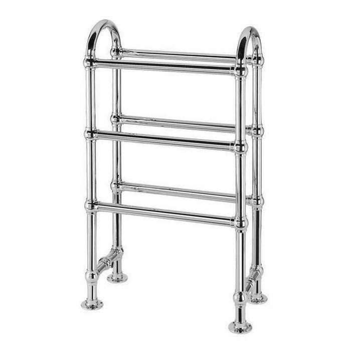 sèche-serviettes à eau chaude / en métal / contemporain / vertical