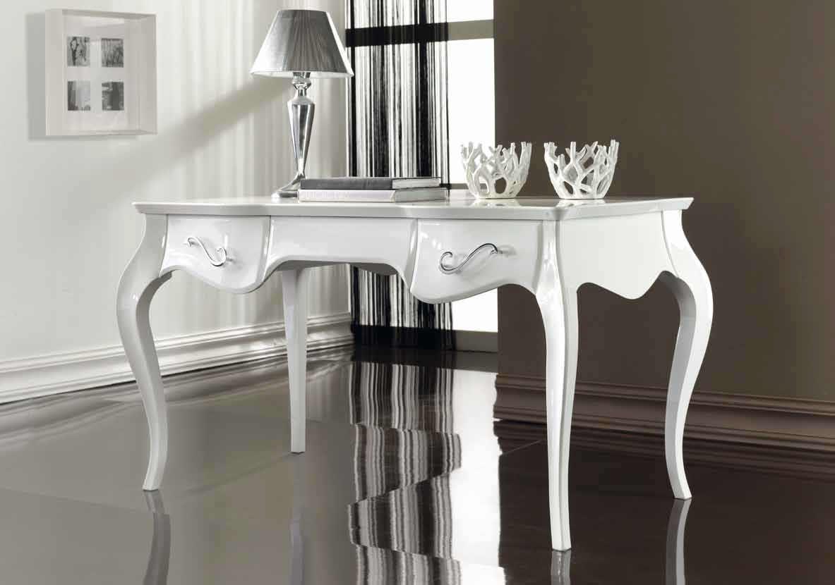 Bureau en bois design nouveau baroque touch bbelle