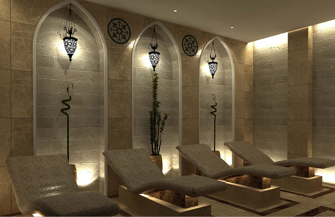 Lit De Relaxation Professionnel Juno Spa Wellness