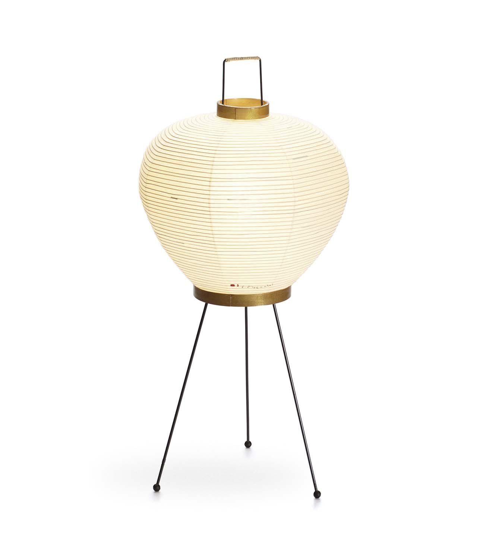 lampadaire design en papier