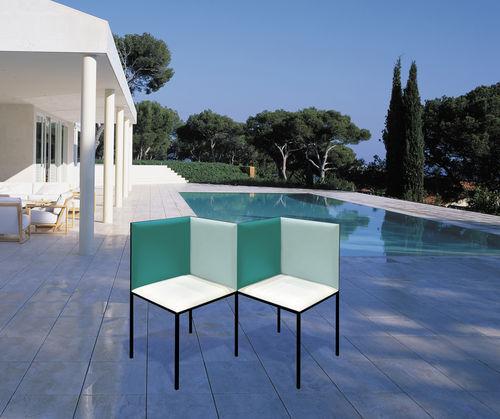 Banc De Jardin  Design Original  En Mtal  Avec Dossier