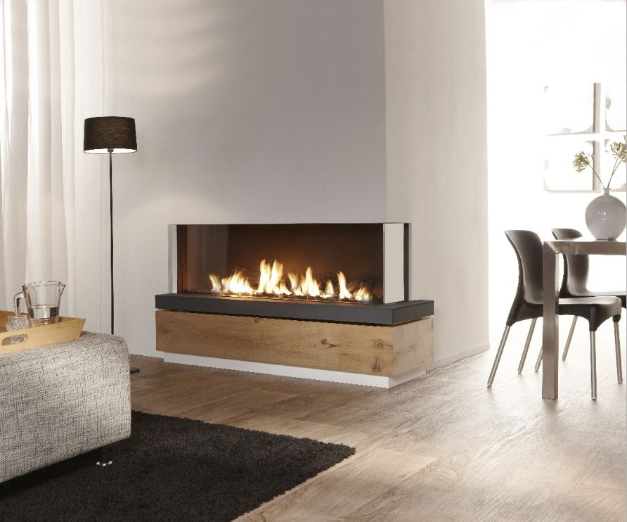 chemin e gaz contemporaine foyer ferm d 39 angle bidore 140 element4 b v vid os. Black Bedroom Furniture Sets. Home Design Ideas