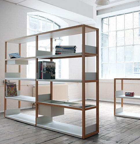Populaire Étagère modulable / contemporaine / en bois / en métal - LAP by  OV52