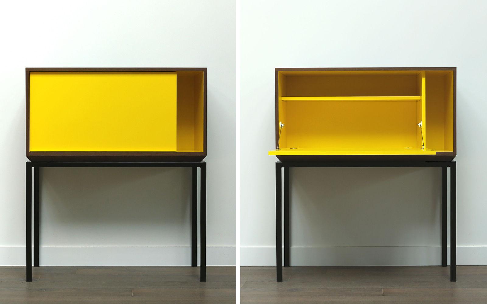 meuble secrétaire contemporain / en bois - my city by laurent ... - Secretaire Meuble Design