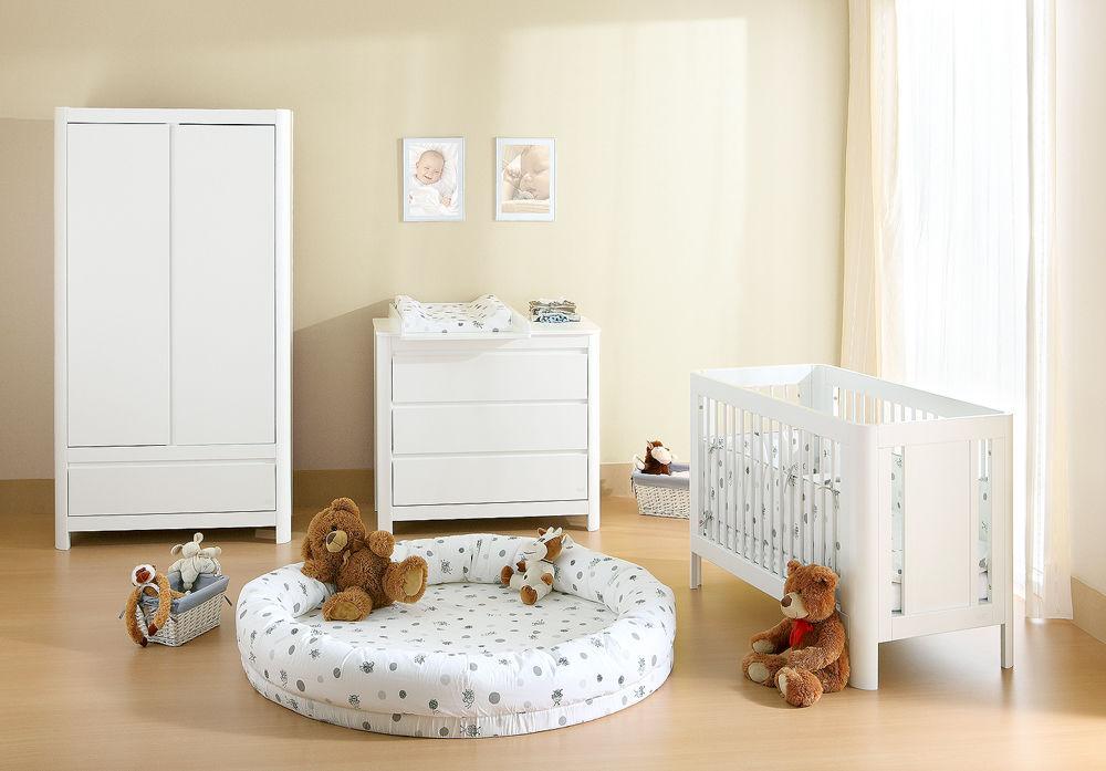 Chambre d\'enfant blanche / de bébé - SUN - Troll Nursery Deutschland