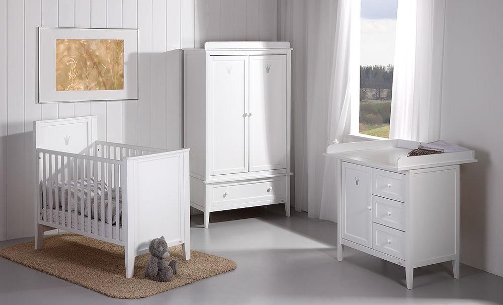 Chambre d\'enfant blanche / de bébé - ROYAL - Troll Nursery Deutschland