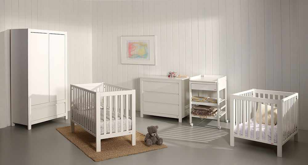 Chambre d\'enfant blanche / de bébé - LOFT - Troll Nursery Deutschland