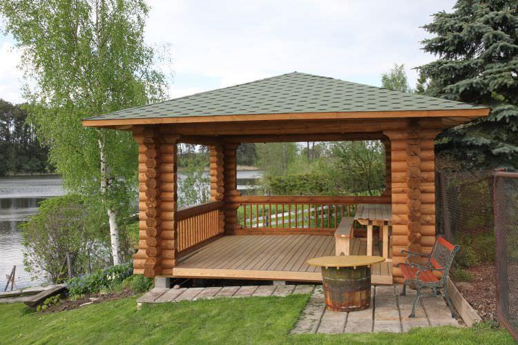 Chalet de jardin en bois / contemporain - RITSU AS
