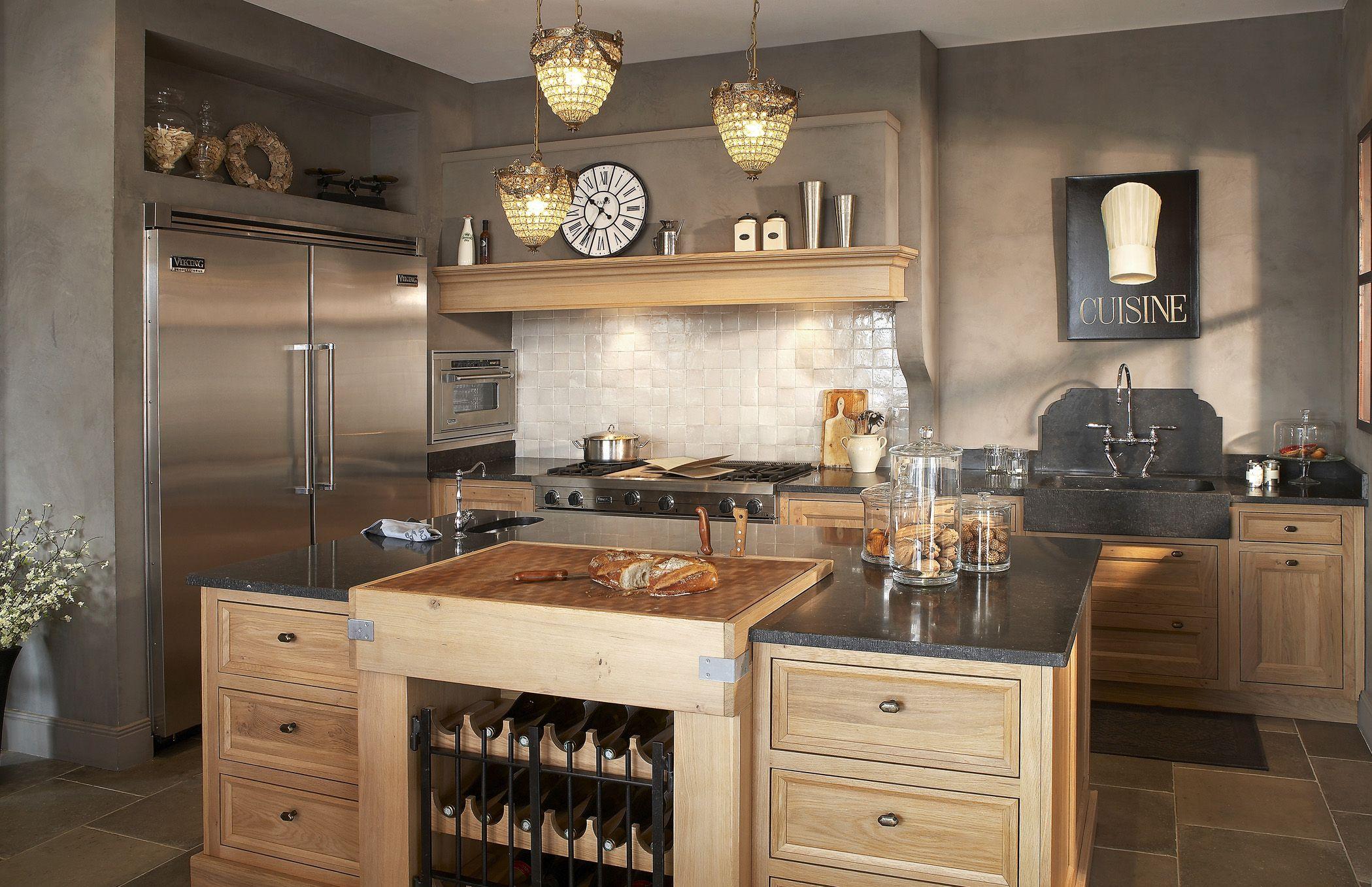 Carrelage contemporain cuisine: carrelage pour plan de travail ...