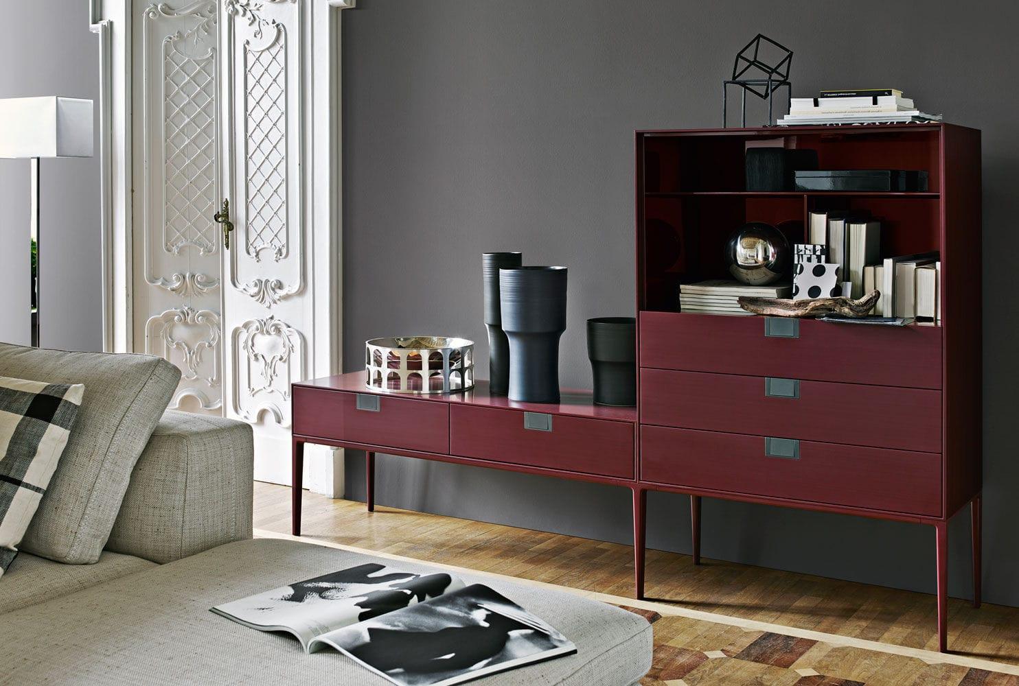 meuble bar contemporain / en bois / par antonio citterio - alcor ... - Meuble Bar Design Contemporain
