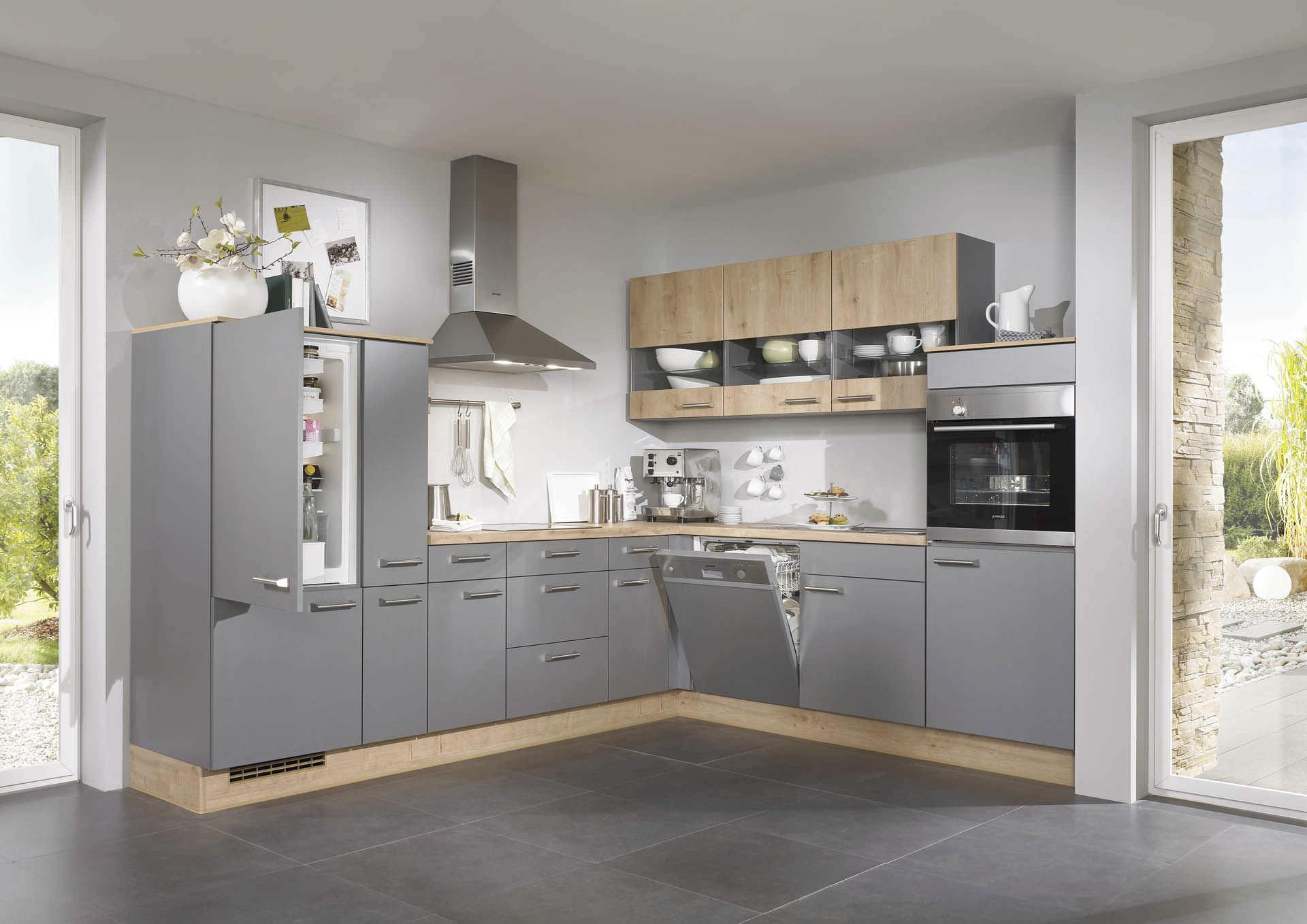 cuisine contemporaine / en plaqué bois / laquée - pia 638 - nobilia
