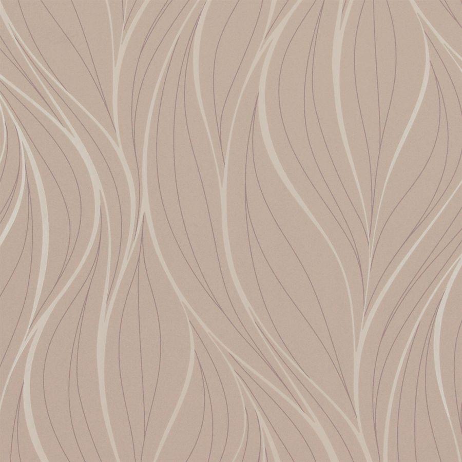 Papier Peint Contemporain En Tissu A Motif Metallise Beige