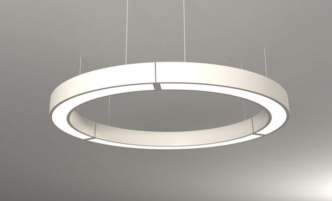 Luminaires Suspendues luminaire apparent / suspendu / à led / en aluminium - circle : nak