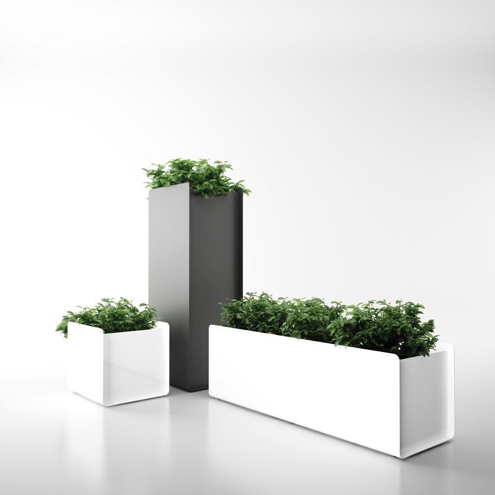 nice jardiniere exterieure en aluminium 9 jardinire en aluminium rectangulaire contemporaine pour espace public crepe by vctor carrasco - Jardiniere Exterieure Contemporaine