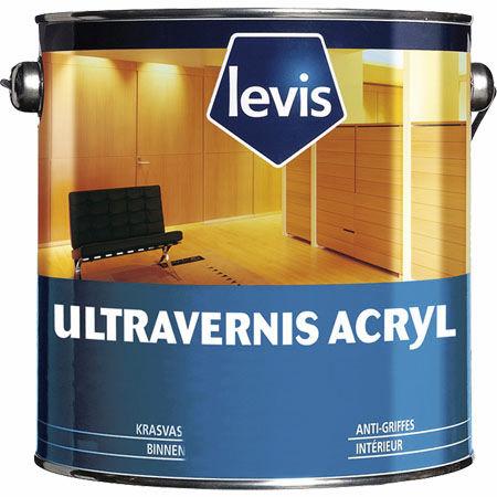 Vernis De Protection  Pour Bois  Brillant  Ultravernis Acryl  Levis