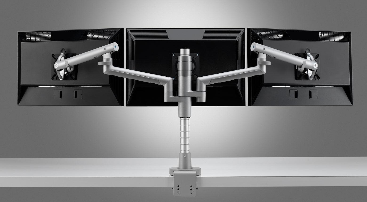 Support pour écran de bureau triple flo modular colebrook