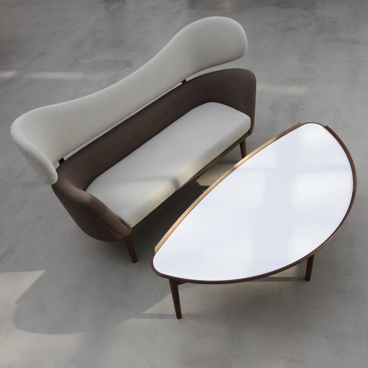 Table basse / design scandinave / en chêne / en noyer - COCKTAIL ...