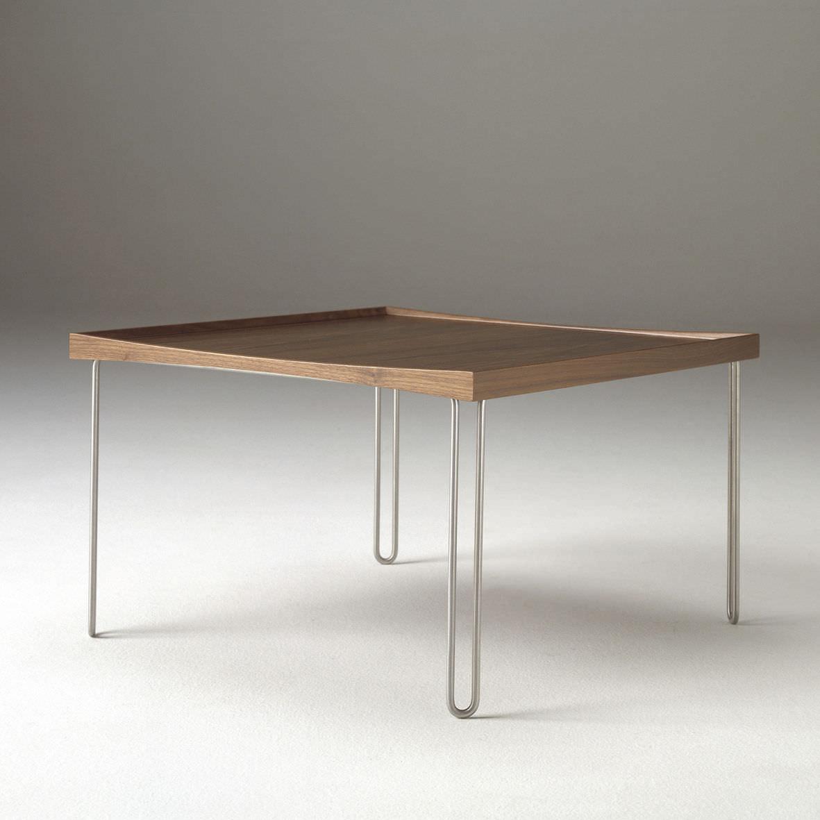 Table Basse Design Scandinave En Bois Massif En Stratifié En