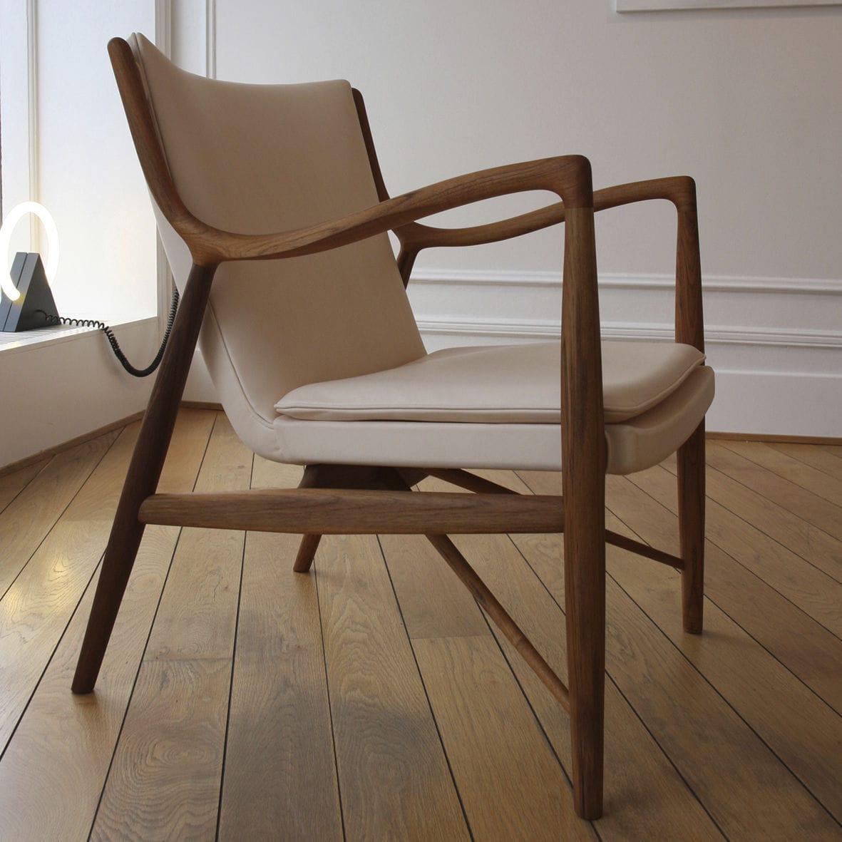 Fauteuil design bois équipement de maison