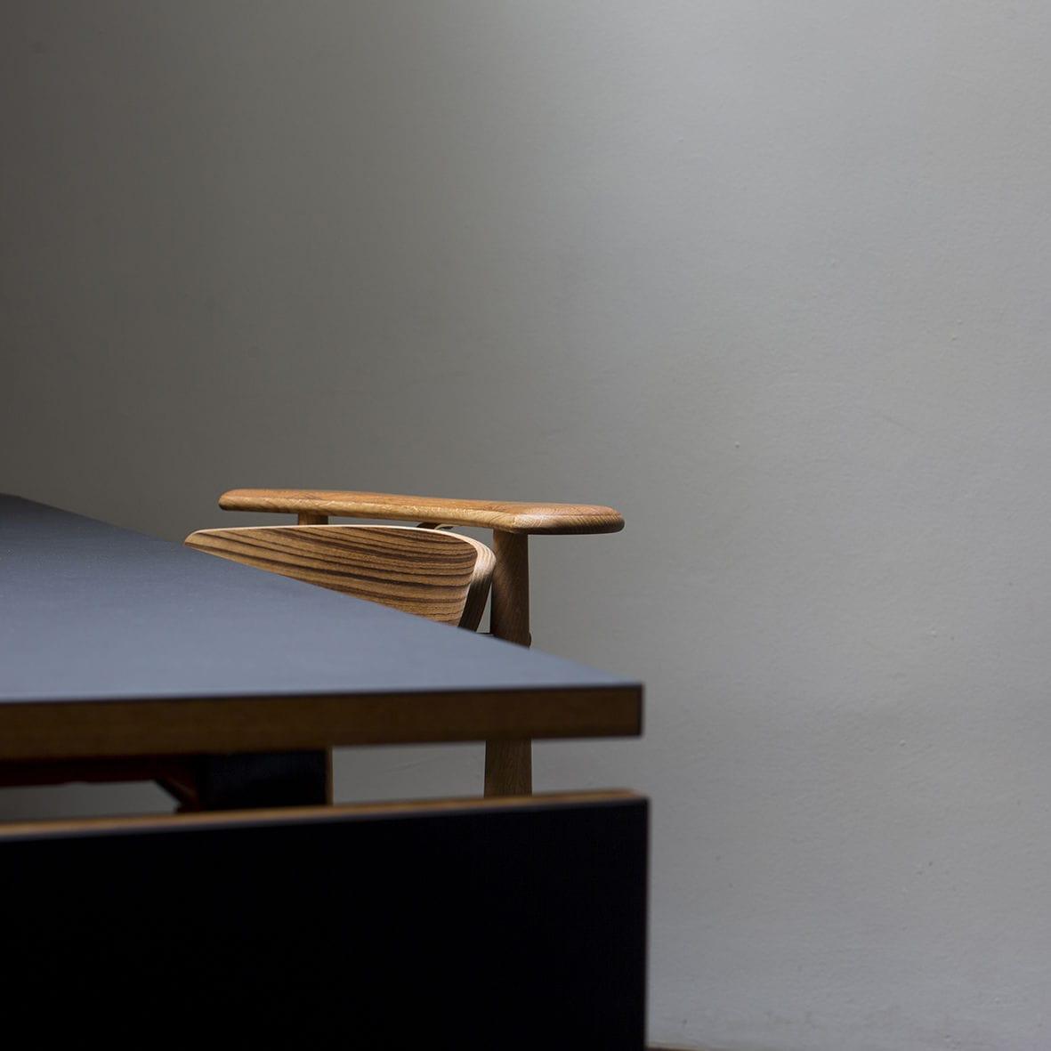 Chaise de salle à manger / design scandinave / en chêne / en noyer ...