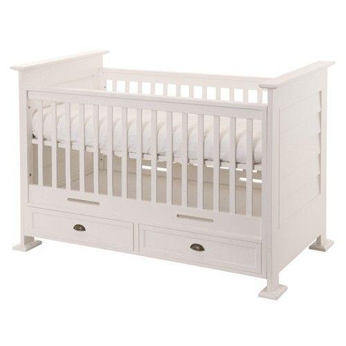Lit Pour Bebe Classique Pour Enfant Unisexe Mdf 120x60 Cm