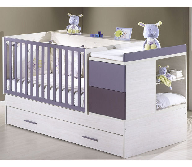 lit volutif simple contemporain pour bb - Bebe Lit Evolutif