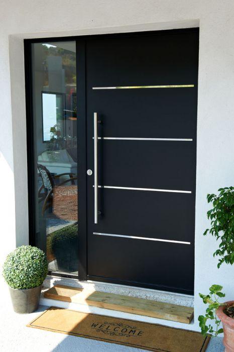 Porte D'Entrée / Battante / En Aluminium / Acoustique - Cotim 11
