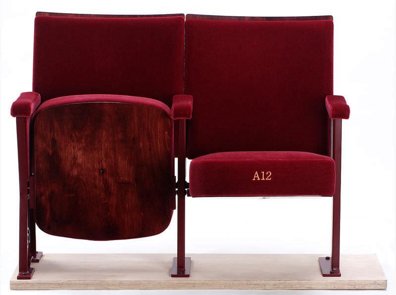 Très Fauteuil d'auditorium de style / en tissu / pour théâtre  ZZ59