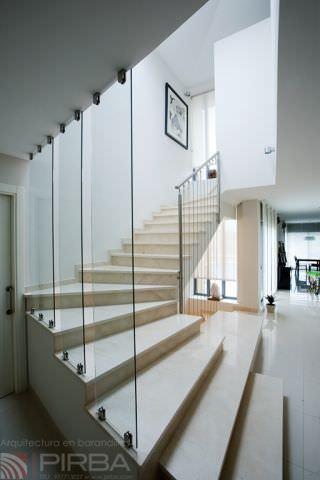 Garde-corps en inox / en câble / d\'intérieur / pour escalier - MD ...