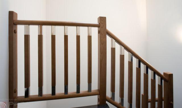 garde corps en bois dintrieur pour escalier