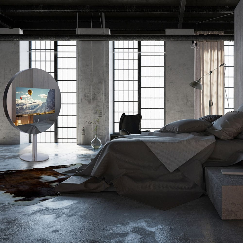 Miroir TV sur pied / de chambre à coucher / 4K / 3D - SPARK - HYMAGE