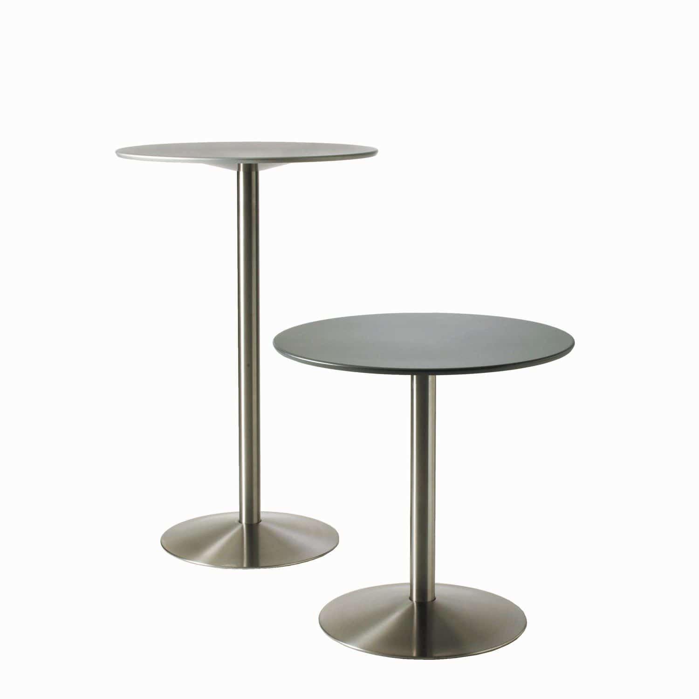 table bistrot contemporaine / ronde / professionnelle / d