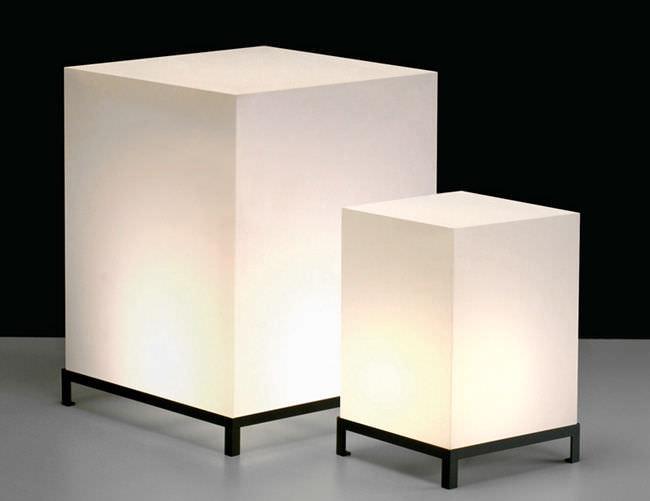 Ordinary Lampe De Chevet Contemporaine #7: Lampe De Chevet / Contemporaine / En Acrylique STAR CUBE By Maurizio  Peregalli ZEUS ...