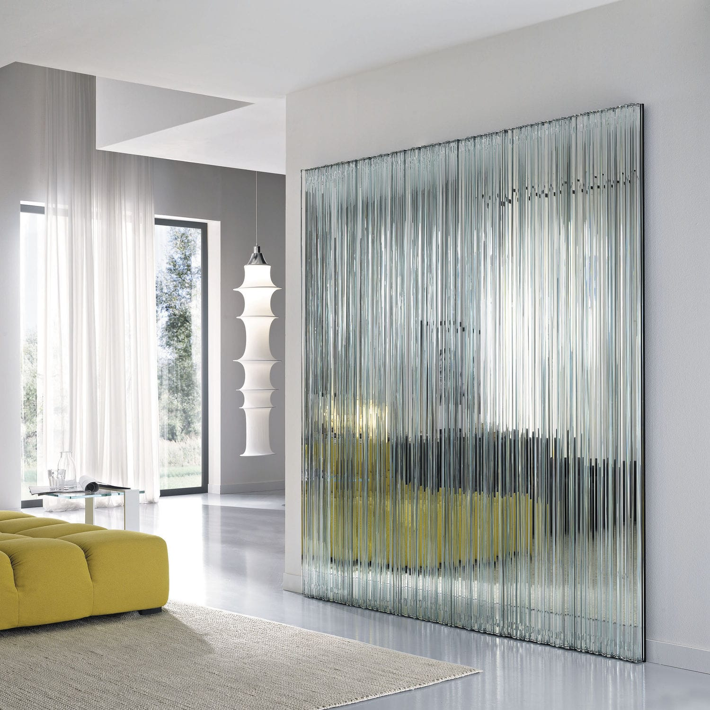 Miroir mural / contemporain / rectangulaire / carré - VU by Giovanni ...