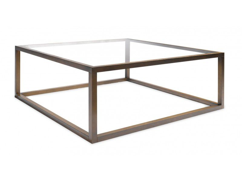 Table Basse Contemporaine En Verre Carree Vert Galant First Time