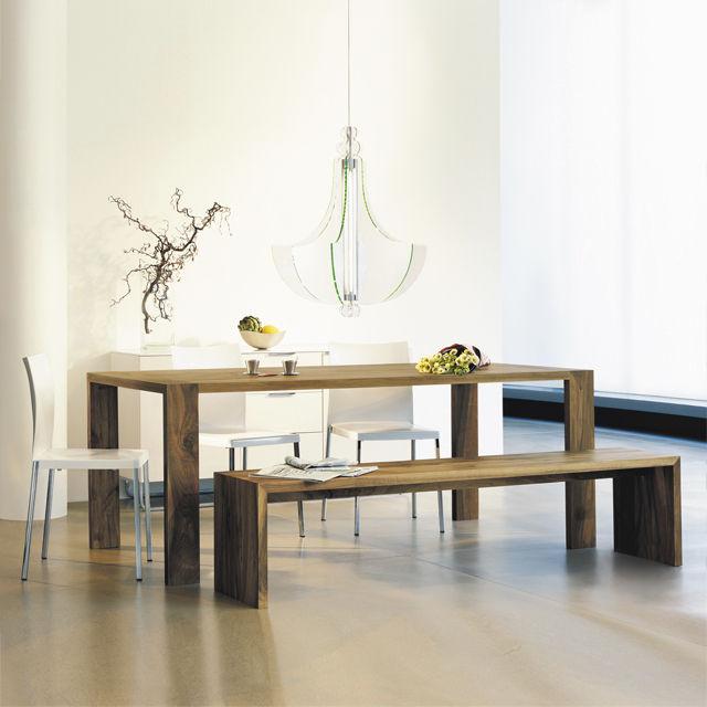 Table Bois Avec Banc Interieur